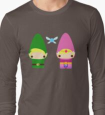 Gnome Link and Zelda Long Sleeve T-Shirt