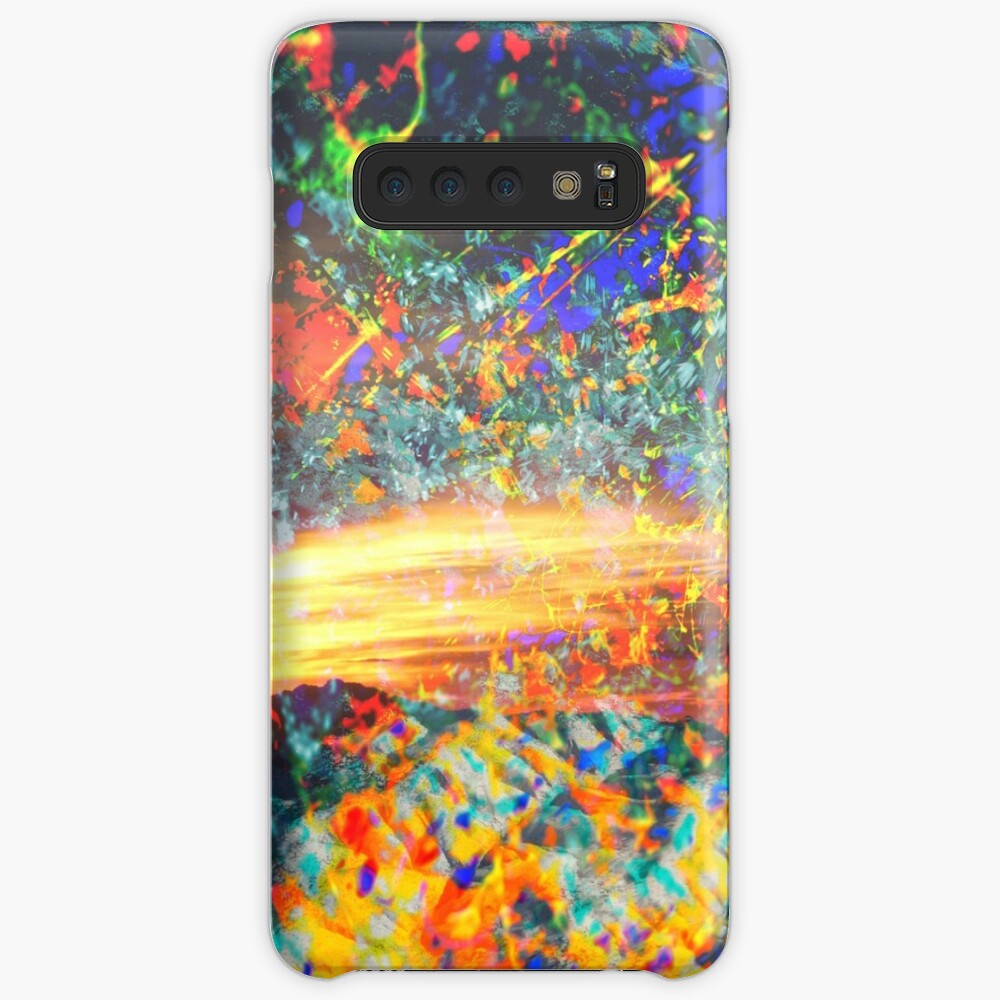 Moth to a Flame Case & Skin for Samsung Galaxy