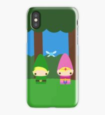 Zelda and Link iPhone Case