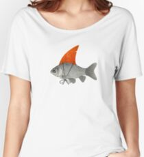 Goldfish with a Shark Fin Women's Relaxed Fit T-Shirt