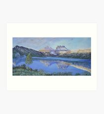 Cradle Mountain above Dove Lake...Tasmania Art Print