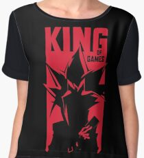 King of Games Chiffon Top