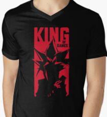 King of Games Men's V-Neck T-Shirt