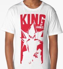 Camiseta larga Rey de los juegos