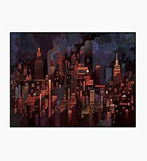 Dark City Photographic Print