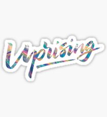 Holo Uprising Sticker