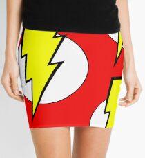 Minifalda Pop cultura friki cosas relámpago diseño colorido