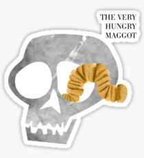 The Very Hungry Maggot  Sticker