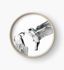 On Swallow's Wings Clock