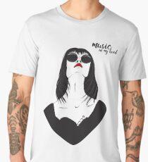 Music in my head Men's Premium T-Shirt