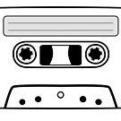 Retro Cassette by whatsandramakes