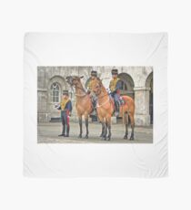 The Queens Life Guard and horses - City of London Scarf