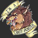Candy Monster by aunumwolf42