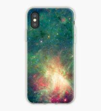 Abkürzung, Omega-Nebel, Weltraum, Astrophysik, Astronomie iPhone-Hülle & Cover