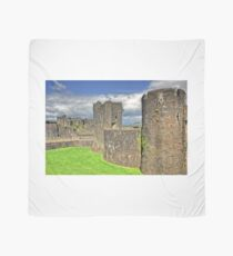 Castles of Wales - Welsh Castle, Caerphilly Castle Scarf