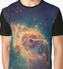 Pillar of gas in the Carina Nebula, nebulae, space, Graphic T-Shirt