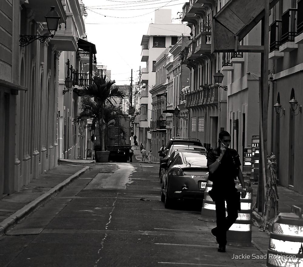 SAN JUAN POLICIA by Jackie Saad Robinson