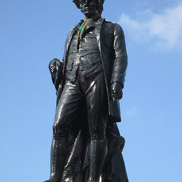 Rabbie Burns Statue In George Square, Glasgow by MagsWilliamson
