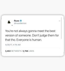 Russ Tweet Sticker