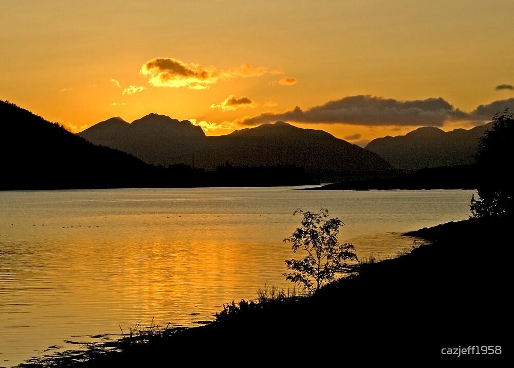 Loch Leven sunset by cazjeff1958