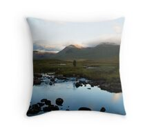 Rannoch Moor Throw Pillow