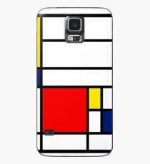 Mondrian Composition Case/Skin for Samsung Galaxy