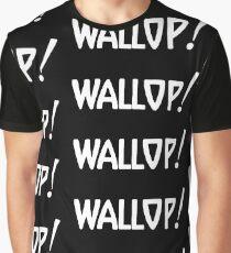 Wallop! (white) Graphic T-Shirt