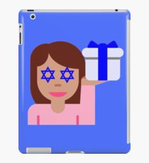 hanukkah hair flick emoji iPad Case/Skin