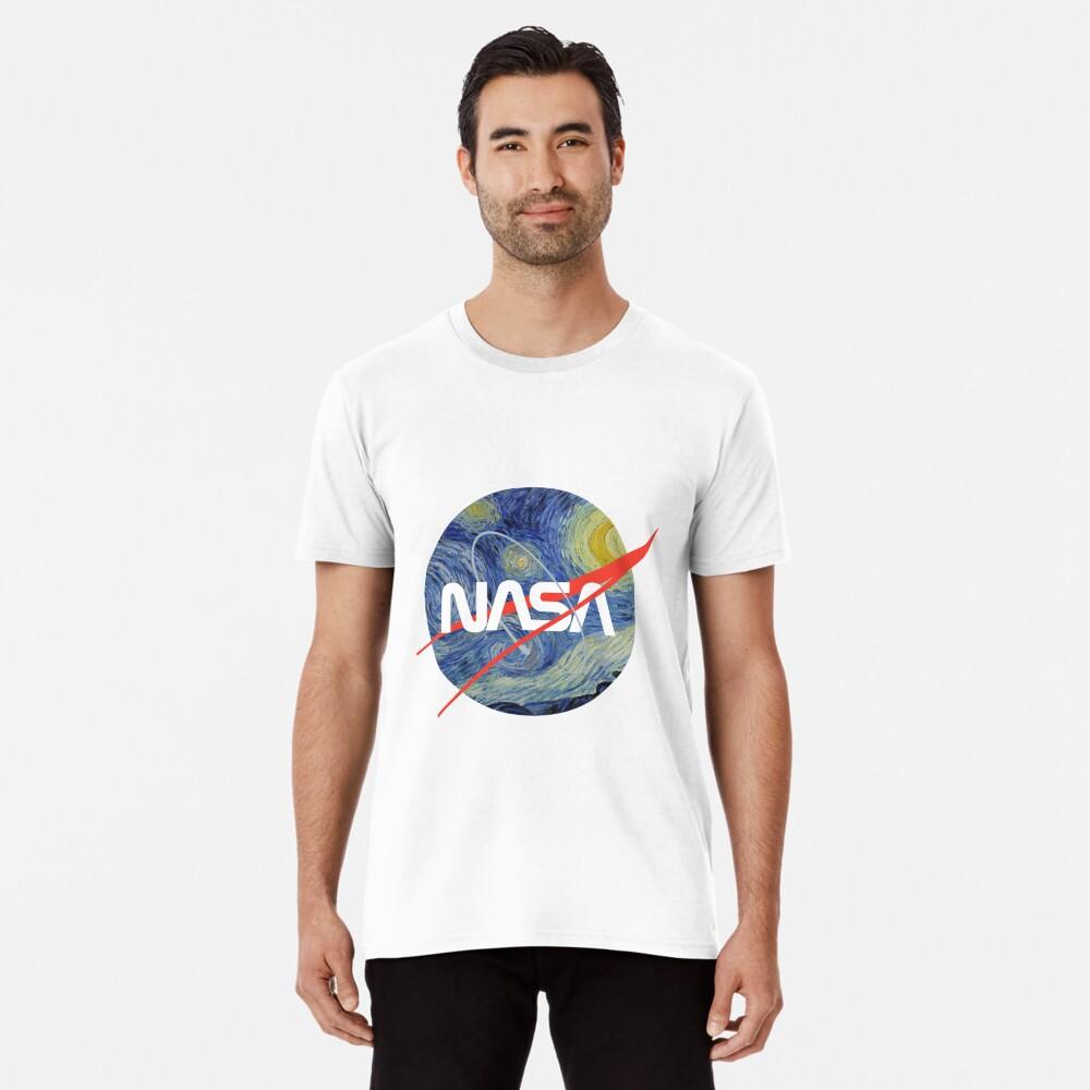 NASA Sternenwurm Premium T-Shirt