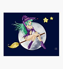 Sexy sweet Witch Photographic Print