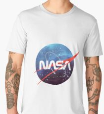 NASA Nebula Meatball Men's Premium T-Shirt