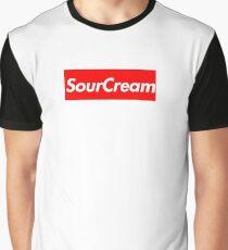 "Supreme ""Sour Cream"" Shirt Graphic T-Shirt"