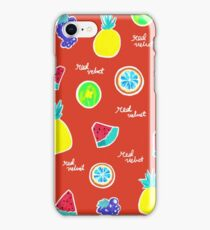 Red Flavour Pattern iPhone Case/Skin