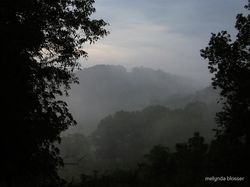 fog rolling in by melynda blosser