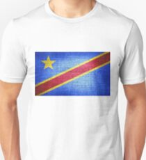 Flag of the Democratic Republic of the Congo Unisex T-Shirt