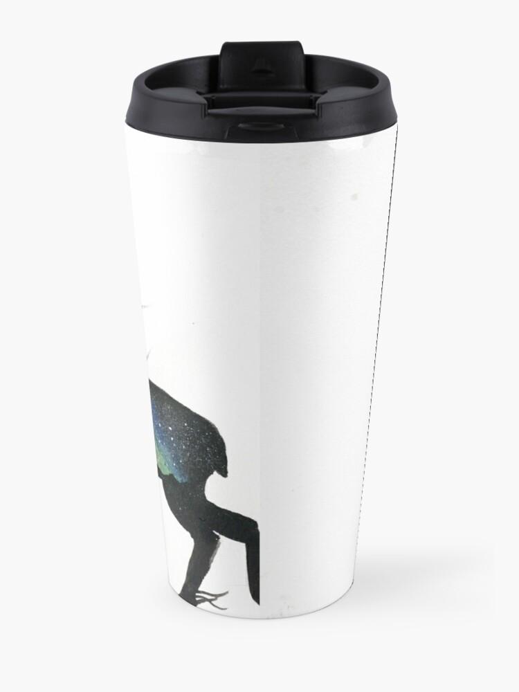 Alternate view of Beautiful Galaxy Stag. Travel Mug