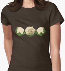 Cauliflower... Womens Fitted T-Shirt