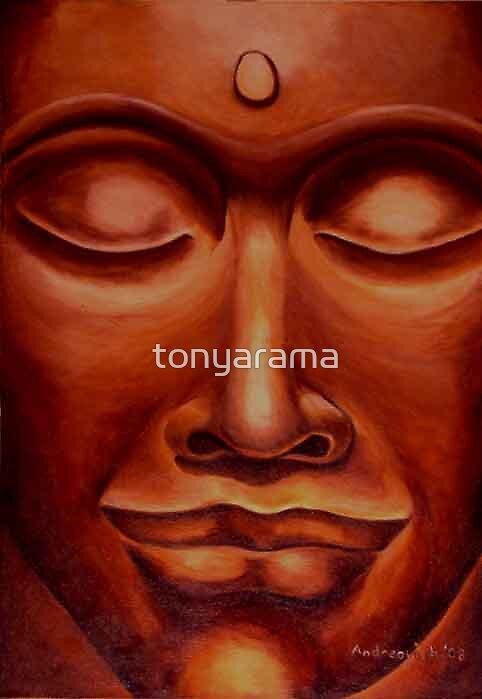The Smiling Buddha by tonyarama