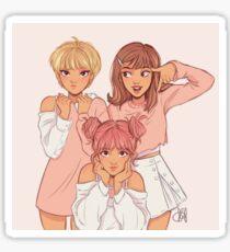 Baby Pink TT Sticker