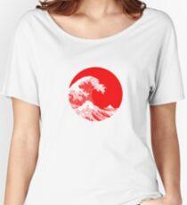 Hokusai, Kanagawa great wave Women's Relaxed Fit T-Shirt