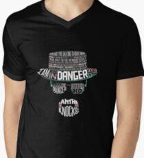 One Who Knocks Men's V-Neck T-Shirt