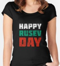 WWE Rusev Day Women's Fitted Scoop T-Shirt
