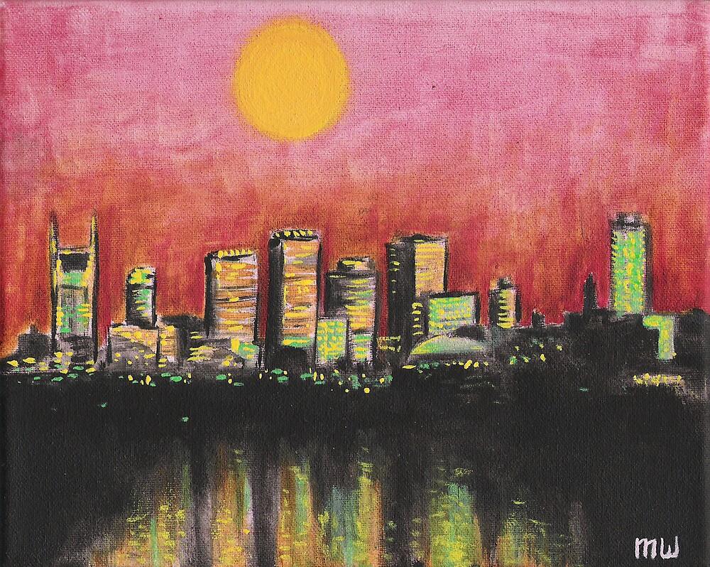 nashville skyline by MattWolf