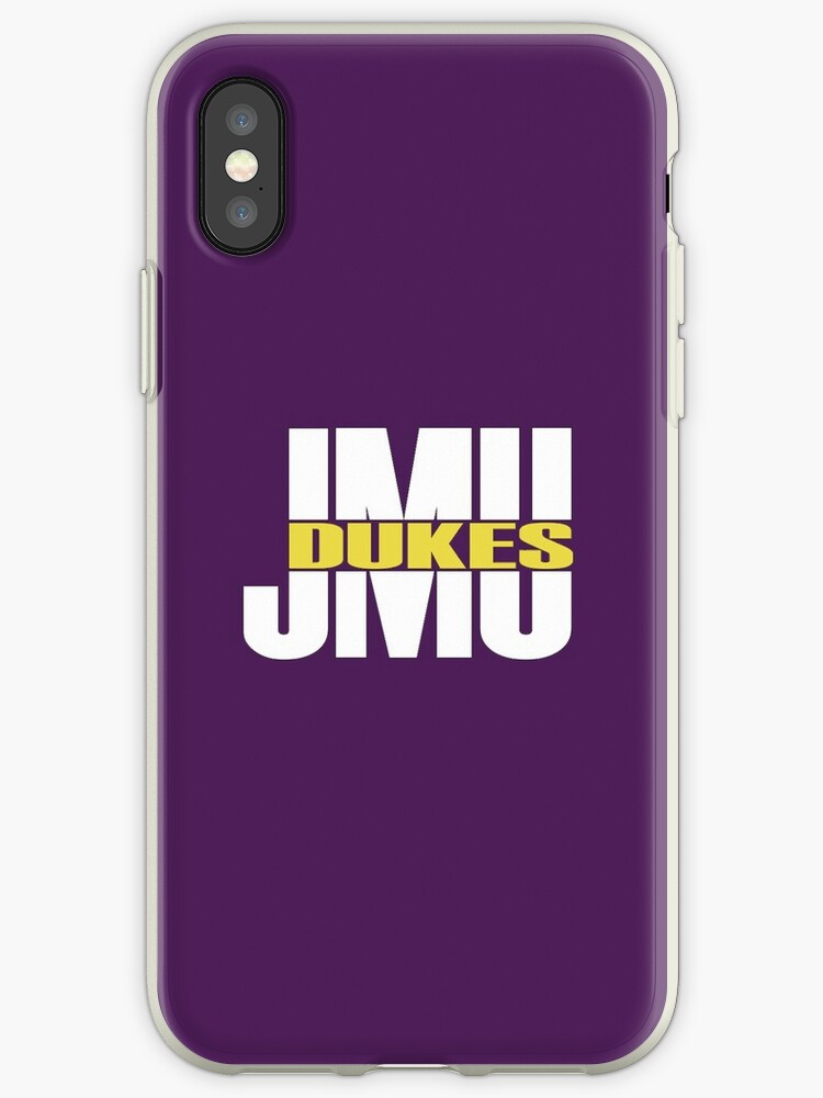JMU Dukes - White Split by Talia Faigen
