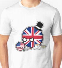 Scolding UKball USAball | Polandball Countryball Unisex T-Shirt