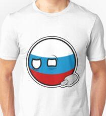 Russiaball with empty bottle | Polandball Countryball Unisex T-Shirt