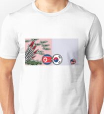 DPKR Koreaball conflict with USAball | Polandball Countryball Unisex T-Shirt