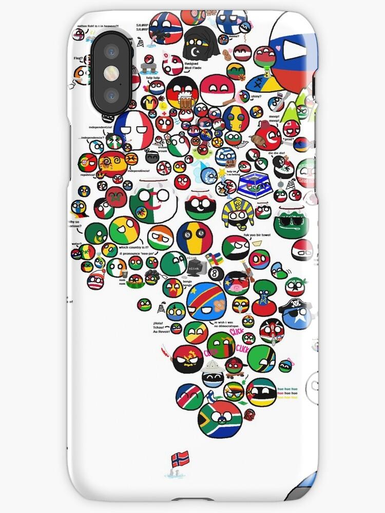 Polandball countryball world map iphone cases covers by poland polandball countryball world map by poland ball gumiabroncs Choice Image