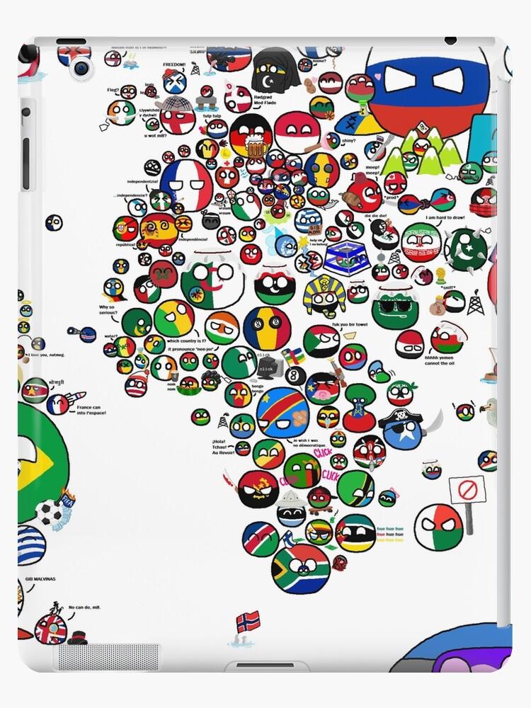 171 carte du monde de polandball countryball 187 coques et