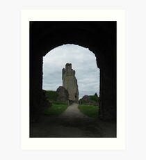 Helmsley Castle Art Print